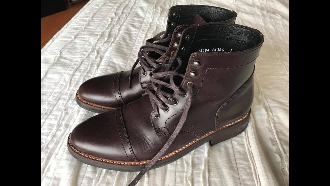 eee2bb0ef178 THURSDAY BOOTS REVIEW - Captain Brown - YouTube