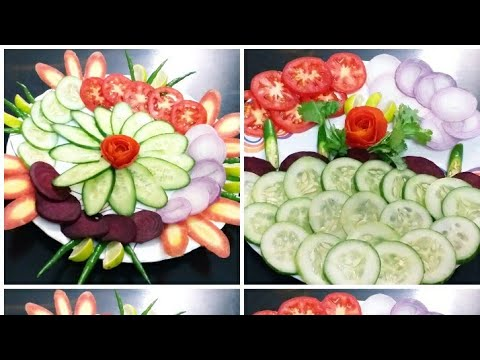 Simple salad decoration ideas