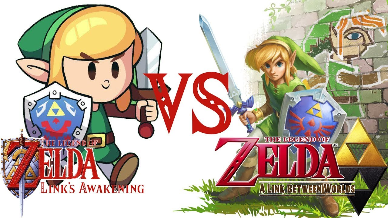 Link S Awakening Graphic And Art Comparison To Link Between Worlds Citra