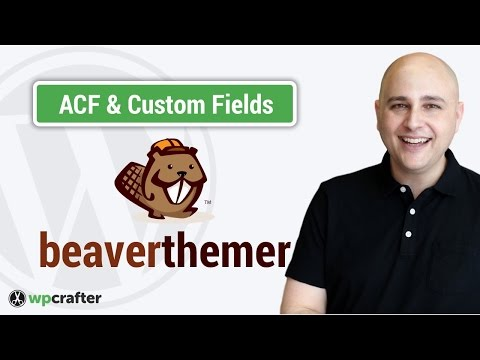 Beaver Themer Tutorial - How To Create & Connect Custom Fields For WordPress Post Types