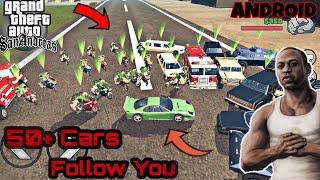 Bodyguards Car Follows You Advanced 75 cars Mod For Gta Sa Android Feat. Hemant Verma