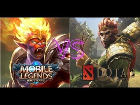 hero mobile legend vs dota 2 mlbb vs dota youtube