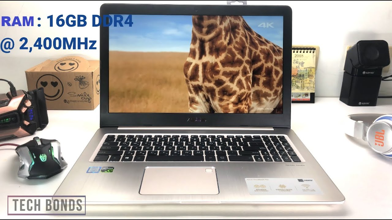 ASUS VivoBook pro 15 Laptop N580GD i7 8TH GEN Review and Benchmark