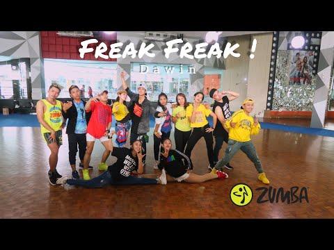 Dawin - Freak Freak  ZUMBA  FITNESS  At ATLAS SPORT SURABAYA
