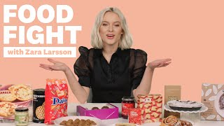 Zara Larsson Tries Ikea Food | Food Fight | Women's Health