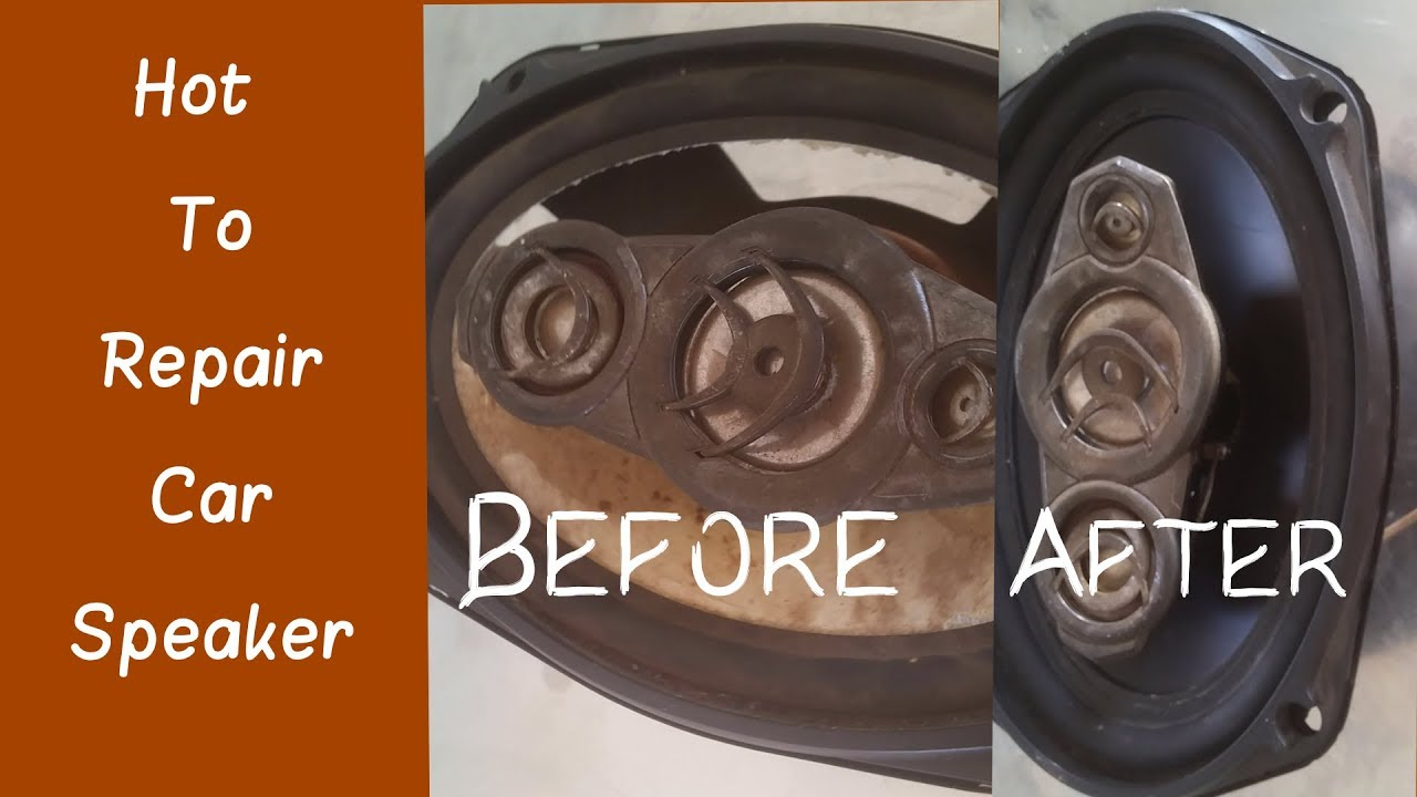 How to Repair Car Speaker - Car sub-woofer Repair after Change Good Than  Before Speaker 10