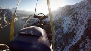 GoPro: Erik Roner's Snowmobile B.A.S.E. Jump – A Shane McConkey Tribute