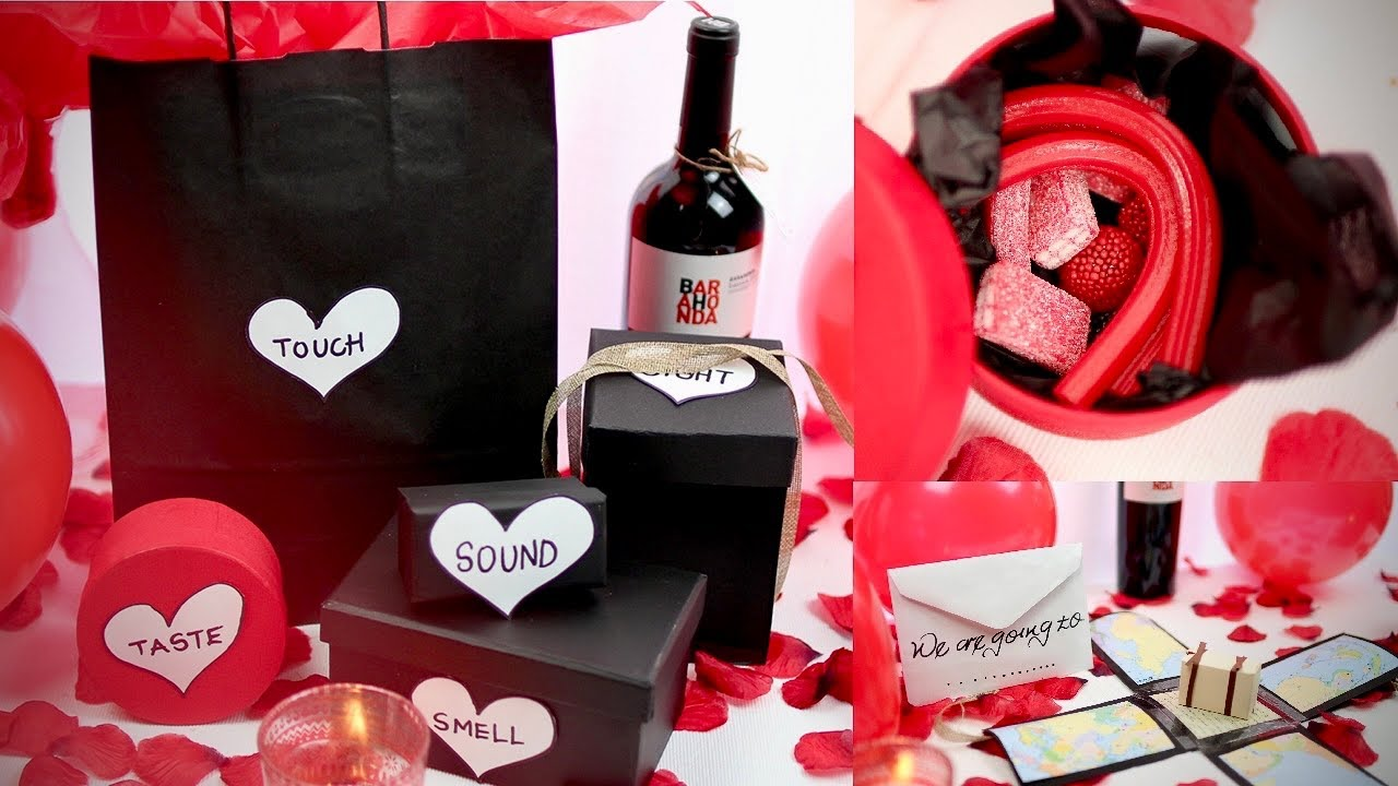 Easy Diy Valentines Day Gifts For Him 5 Senses Valentines Gift Ideas For Him Valentine S 2021 Youtube
