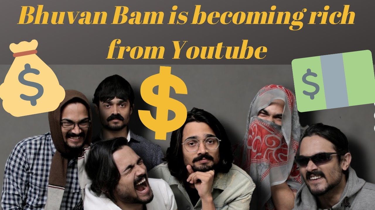Earnings of Bhuvan Bam or BB ki Vines from YouTube Videos in an year ? 2019