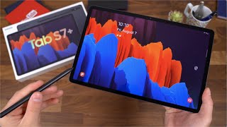 Samsung Galaxy Tab S7 Plus Unboxing!