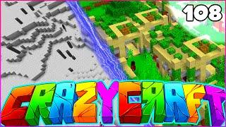 """Minecraft CRAZY CRAFT 3.0 SMP - """"DIMENSION GLITCH"""" - Episode 108"""