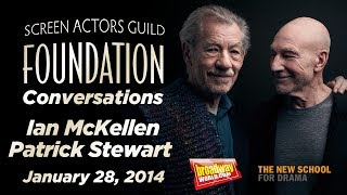 Conversations with Sir Ian McKellen and Sir Patrick Stewart