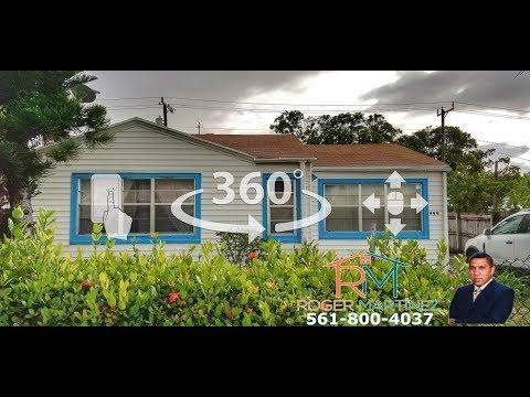 House For Sale West Palm Beach Florida (360° Virtual Tour )