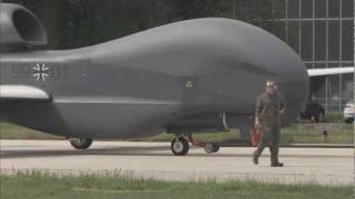 FIrst Euro Hawk Lands in Germany