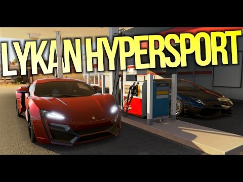 Forza Horizon 3 – W Motors Lykan Hypersport w/ FTHY