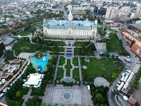 Iasi - Palace of Culture & Saint Cuvioasa Parascheva
