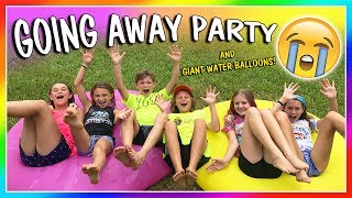 OUR GOING AWAY PARTY!😭| We Are The Davises
