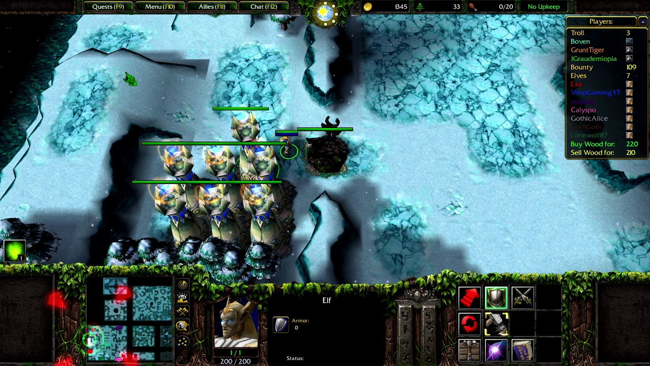 troll and elves speed x4c.w3x