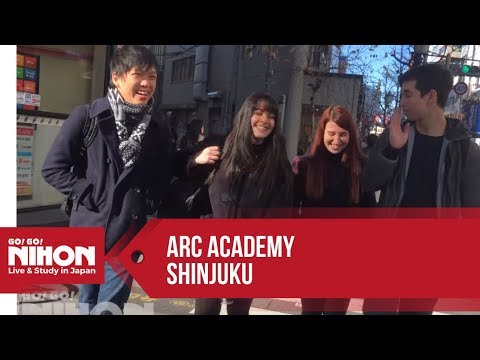 ARC Academy Shinjuku Japanese Language School (アークアカデミー新宿) - Presented by Go! Go! Nihon