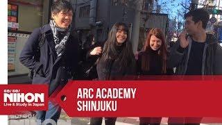 Go! Go! Nihon Presents: ARC Academy Shinjuku located in Shinjuku, Tokyo