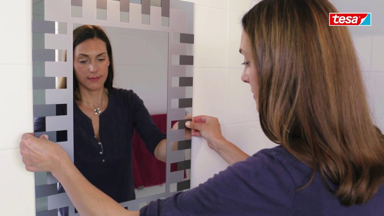 tesa Powerbond Spiegelklebeband - Spiegel aufhängen ohne Bohren