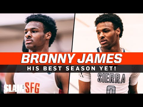 Download Bronny James Is a Certified Bucket‼️🔥 Sophomore Year Full Highlights 🚨