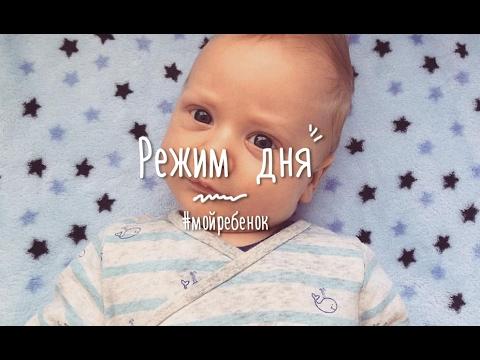 МОЙ РЕБЕНОК: режим дня ребенка в 2-3 месяца