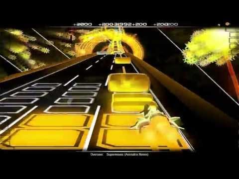 AudioSurf: Overseer  Supermoves Animatrix remix