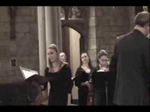 Choral Arts Philadelphia: J.S. Bach Cantata 196 - Soprano Aria
