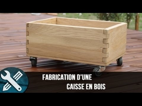 bricolage vlogs fabrication d 39 une caisse en bois sur. Black Bedroom Furniture Sets. Home Design Ideas