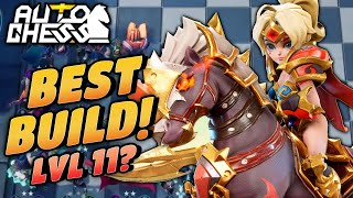 NEW BEST Build 6 Knights 6 Egersis at Level 11! | Auto Chess Mobile | Zath Auto Chess 175
