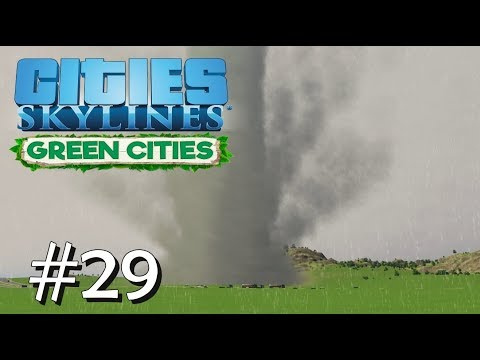 CITIES SKYLINES: Green Cities #29: Tornado-Alarm [Let's Play][Gameplay][German][Deutsch]