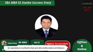 IBA MBA 63 intake success story