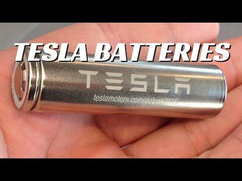 Are Tesla Panasonic Batteries THE BEST?