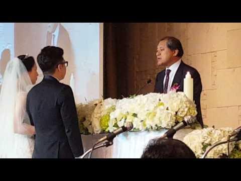 장경동목사 주례사  @ 김경우 원아롱 결혼식