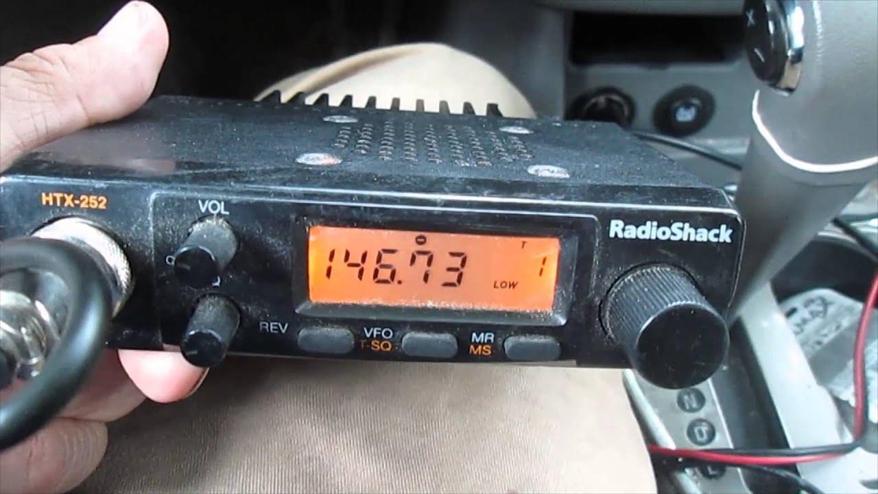 radios Radio shack amateur