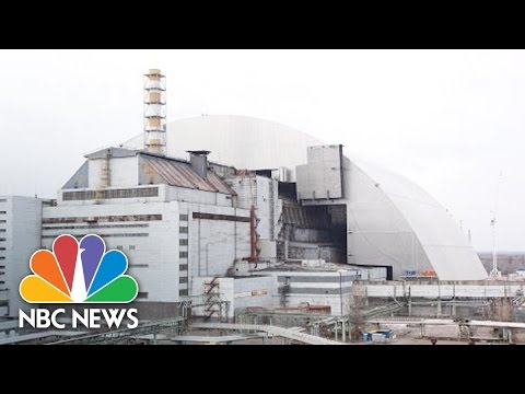 Giant Steel Hangar Built Over Chernobyl Nuclear Exclusion Zone | NBC News