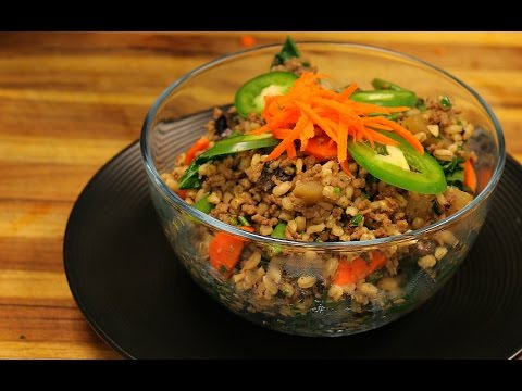 Barley and Beef Recipe - healthy recipe channel - ground beef ide... - Health Fitness Workout Videos