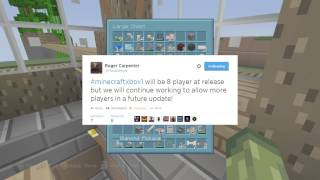 Minecraft (XB1 & PS4) - ONLY 8 PLAYER MULTIPLAYER ON RELEASE + MORE [NEW INFO]
