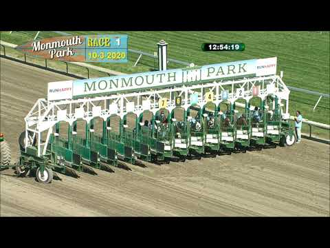 video thumbnail for MONMOUTH PARK 10-3-20 RACE 1