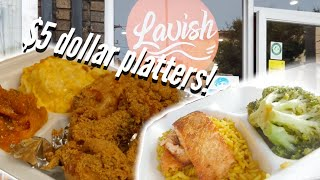 $5 Soul Food Platters!! Salmon, Fried fish, Fried chicken, baked mac and cheese and much more!