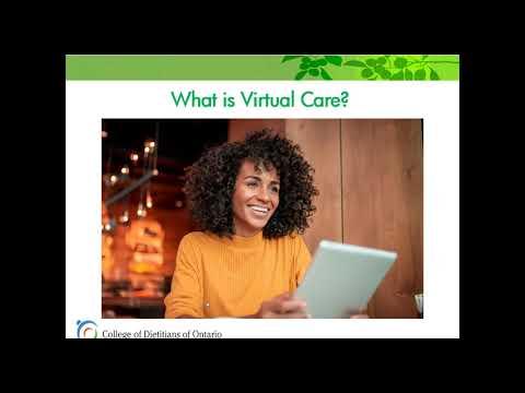 Reg Talks Webinar: What is Virtual Care (July 2020)