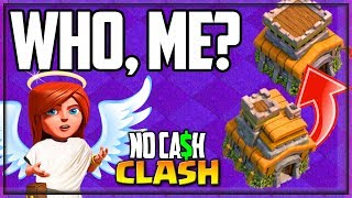 Cheating, NO. Rushing, YES! Clash of Clans No Cash Clash #26