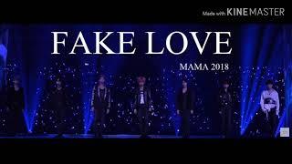 BTS - Fake Love MAMA 2018 Performance Audio