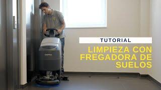 ESP No7 Limpieza con fregadora de suelos