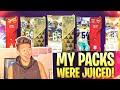 My madden packs were juiced like super juiced