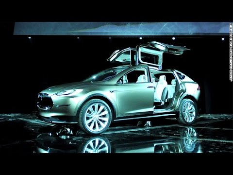 New Tesla electric car unveiled