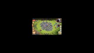 jugando servidor privado de Clash of Clans (Null's clash) hasta los 1200 trofeos