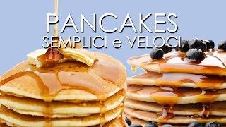 Pancakes In Bottiglia Super Veloci Youtube