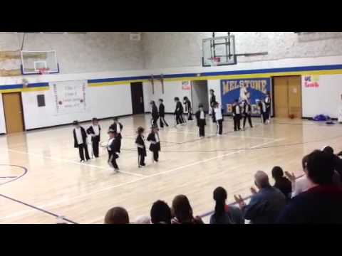Melstone School Drill Team 2014